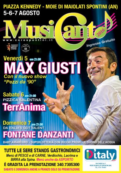 Coro polifonico Italiano Spontini Max Giusti