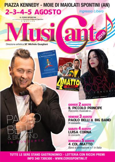 Coro Italiano polifonico corale Musicanto Paolo Belli